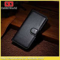 high quality luxury PU Leather Case For IPhone 4