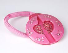 Pink Nickel Free Hair Elastics