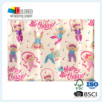 Design Your Own Wrapping Paper for Birthday Gift