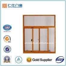 Renshi Brand aluminum Horizontal Roller window, sliding window