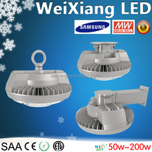 Weixiang bewest LED high bay light 150w Hook/Arm/Wall mount type led low bay with competitive price