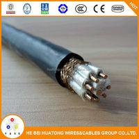 Powerful pvc control 0.6/1KV color code telecom copper cables