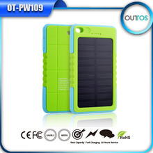 most popular outdoor waterproof solar battery charger, solar energy power bank for phone