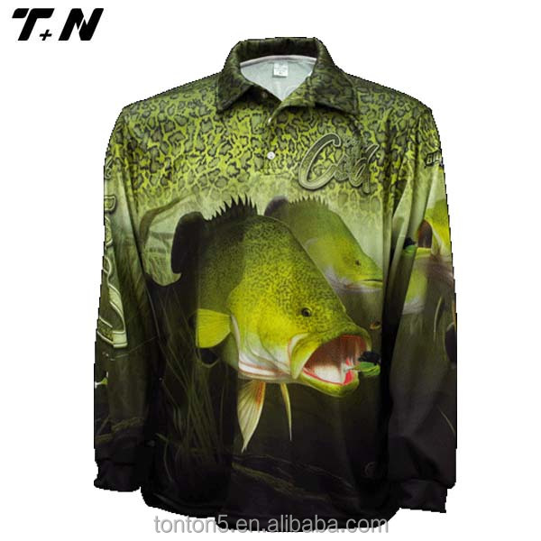 Custom made fishing shirt fishing shirts fishing apparel for Custom fishing shirts