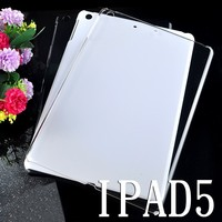 OEM Logo Ultra thin 0.3mm Clear TPU back Case For iPad Air