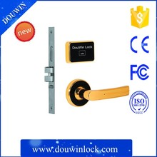 heavy duty electronic sliding door lock for hotel
