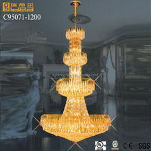 colored glass chandeliers