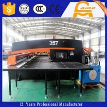CE Certification 300/500KN Steel Sheet Metal CNC Turret Punching Machine