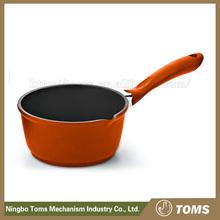 China Manufacturer Die Cast Aluminium cast iron enameled sauce pan