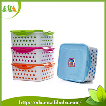 2015 latest Microwavable promotional airtight plastic food container