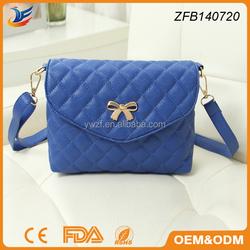 high quality leather material fashion pu bag