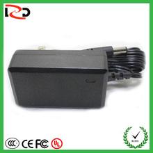 USA/UK/EU/AU plug in 90-264V 24V 0.5A led tv power supply