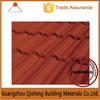 2015 High Grade Low Life Cycle Costs Design Flat Zinc-aluminium Roof Tile