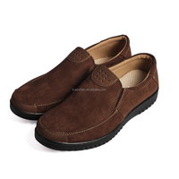 cheap mens high top suede casual shoes