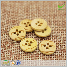 Chinese top 10 brands custom laser engraved wooden buttons