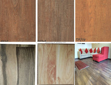 fine embossed 880kg hdf ac4 wax coated square edge double click laminate flooring exporting