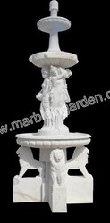 Handcarved Marble Water Fountain-CHY-BF076