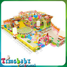 Primary school plastic indoor playground, commercial game for indoor play equipment