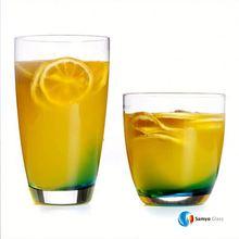 Samyo Custom Glassware Manufacturer 414ml cool drink/drinking glass/glassware