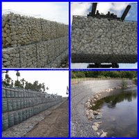 Anping DM high quality wire cages rock wall welded gabion box (gold supplier)