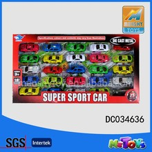 3' hot selling 25pcs mini die cast car,metal car,pull back function