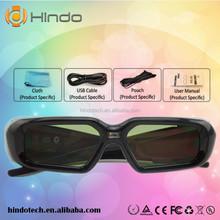 HD dlp 3d glasses shutter 3d glasses 3d ready dlp link projector glasses