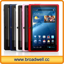 Hot Selling Allwinner A33 Quad Core Android 4.4 Cheapest 7 inch Tablet With Bluetooth