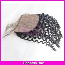 Hot New Products 2015 6A Virgin Human Hair No Tangle No Shedding Indian Curly Remy Hair Silk Base Closure Dropshipping