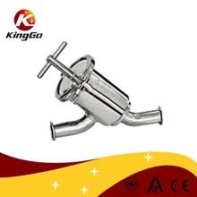 De acero inoxidable filtro sanitario Y tipo, Tail stainlss acero <span class=keywords><strong>colador</strong></span>