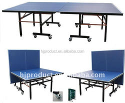 supreme material folding & moving Pingpong table / table tennis
