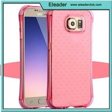 for samsung galaxy s6 shockproof transparent clear dot case