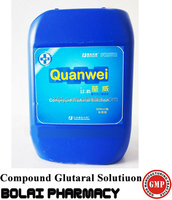 Farm Use Sanitizer Compound Glutaral Solution Sterilize Animal Barn and Instrument disinfectant function.