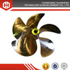 best quality marine boat copper propeller with certificate