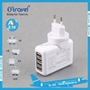 5V 5.4A Universal 4 Multi Port Rapid USB Wall Travel Charger with 4 plugs