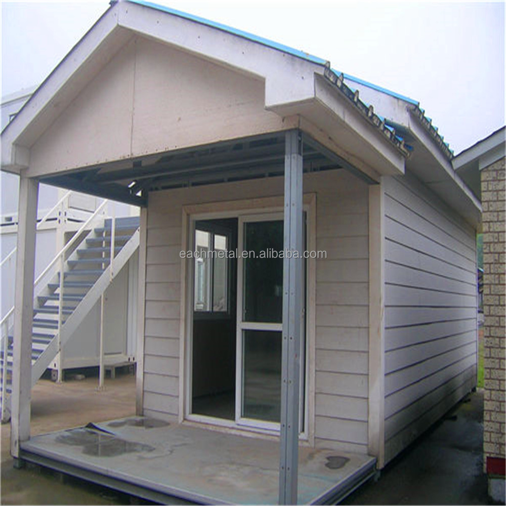 Low cost effective movable prefab installed contaier house for Cost effective house building