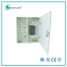 ST Type 24 Port Wall Mounted Fiber Optic Patch Box