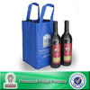 Lead Free Non Woven Custom 6 Bottle Pack Liquor In Bags