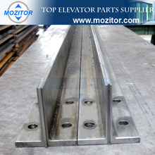 T50/A high quality elevator components| cold drawn elevator guide rail