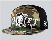 2015 new brand 6 panel hat hip hop cap black military snapback cap wholesale and retail