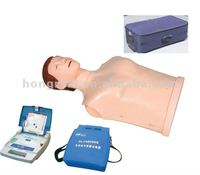 Advanced CPR and AED Training Manikin set,Used Nursing CPR Manikins,Bust CPR Manikin