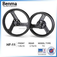 aluminum alloy materials cnc motorcycle wheel hub