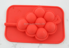2015 hot cute shape silicone design food tray