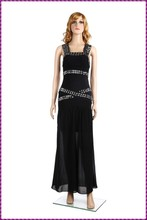 sassy fitted cocktail backless black sequin black tie dye maxi dress