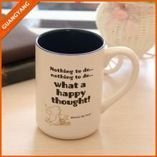 2015 10oz stoneware tea mug handpaint colorful with spoon wholesale