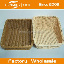 China factory direct wholesale Bread displaying customized size storage basket and bins