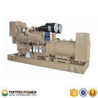 630kw Turbocharged Electronic Power Marine Generator