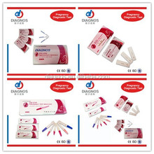 Sale ! CE ISO13485 Urine HCG Pregnancy test kit / Baby check test home use