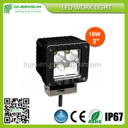 "3"" 16W off road use led driving light,led work light,led pod light"