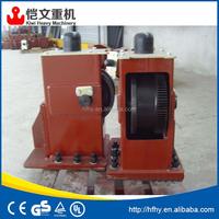 best price crane kit of end carriage and crane wheel block used for small bridge crane 2ton