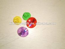 LED Auto Gyro Plastic Tie-Dyed Spin Tops,Spinning top,classtic children toy